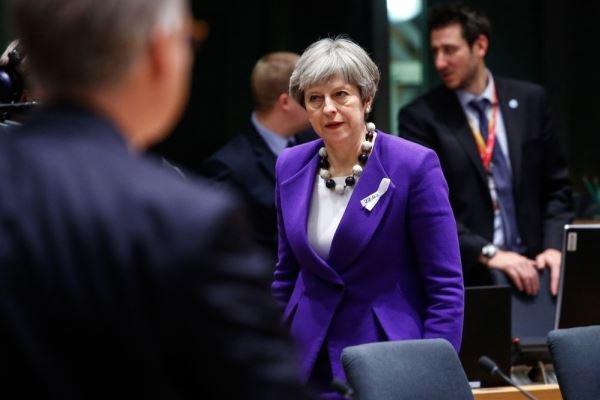 نخست وزیر انگلیس ترزا می