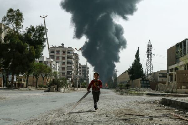 27 قتيلا ومصابا مدنيا بقذيفة هاون أطلقها الإرهابيون جنوبي دمشق