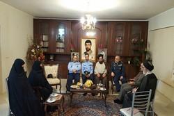 فرمانده نیروی هوایی ارتش در منزل «شهید صیاد شیرازی» حضور یافت