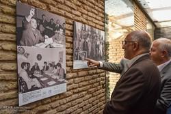 معرض للصور بالتعاون بين منظمة الامم المتحدة وإيران في شيراز