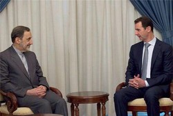 ولايتي يلتقي الرئيس السوري في دمشق