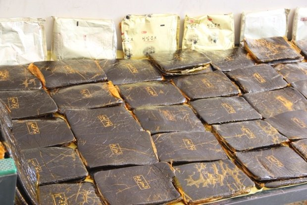 Police seize 57kg of narcotics in Tehran
