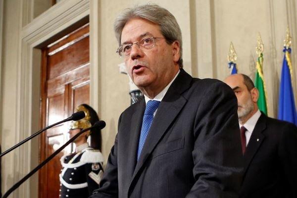 نخست وزیر ایتالیا: رُم در حمله نظامی علیه سوریه شرکت نمیکند