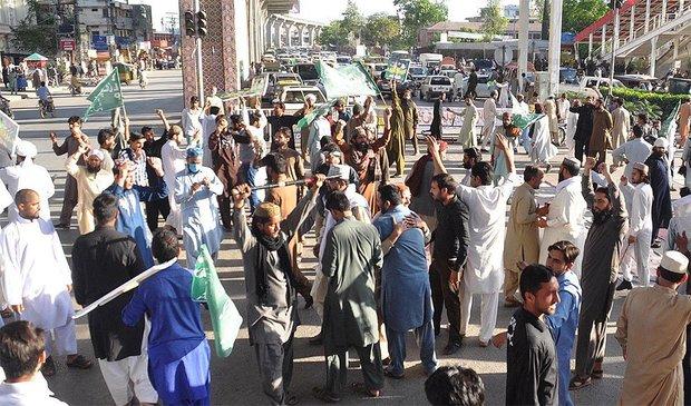 پاکستان میں یوم سیاہ منایا جارہا ہے