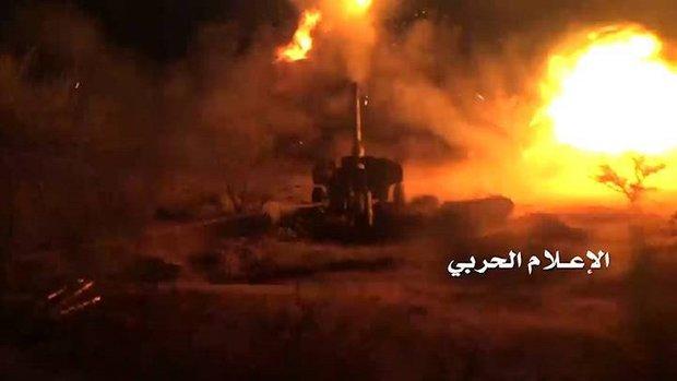 القوات اليمنية تدمر 10 آليات عسكرية لقوى العدوان قبالة نجران