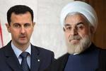 الأسد يعزي روحاني بضحايا الهجوم الإرهابي في الاهواز