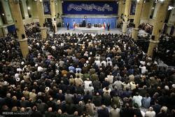 دیدار مسئولان نظام، سفیران کشورهای اسلامی و مردم با رهبر انقلاب