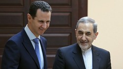 Bashar al-Assad emerged this week to meet Ali Akbar Velayati, the top adviser to Iran's supreme leader