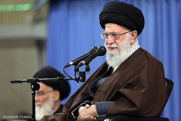 Muslim states' ambassadors to Iran meet with Ayatollah Khamenei on Eid al-Mab'ath