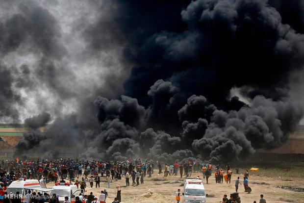 Gazza Şeridi'ndeki protestolar devam ediyor