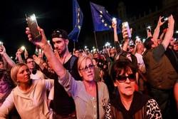 مجارستان تظاهرات