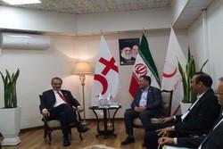 حمایت قاطع صلیب سرخ از هلال احمر ایران/نگرانی از وضعیت سوریه