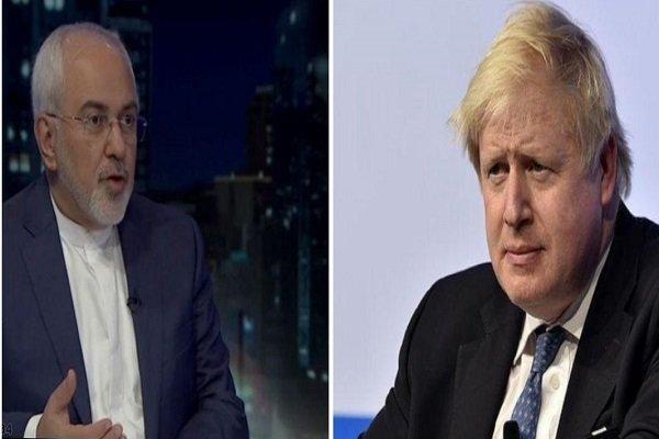 وزير الخارجية البريطاني يقدم لظريف إيضاحات عن العدوان على سوريا