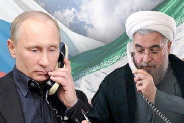 Rouhani, Putin underscore confrontation with US unilateralism