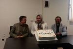 جشن پایان ضبط «آنام» برگزار شد/ دشواری ساخت سریال خارج از تهران
