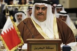 واکنش مداخله جویانه وزیر خارجه بحرین به توئیت اخیر ظریف