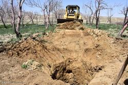 سه حلقه چاه غیرمجاز مسدود میکنیم، دو حلقه جدید حفر میشود