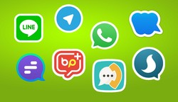 Iranian messaging apps