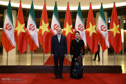 دیدار علی لاریجانی با رئیس مجلس ویتنام