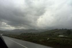 آسمان نیمه ابری پایتخت در روز طبیعت