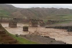 سیل به شهر تاریخی سیمره در ایلام خسارت وارد کرد
