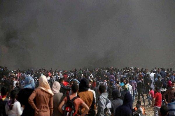 İsrail askerleri Gazze sınırında 54 kişiyi yaraladı