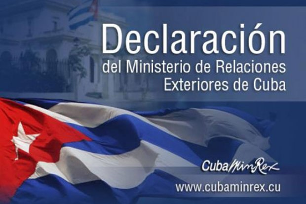 Cuba strongly condemns aggression against Syria