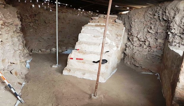 Remains of centuries-old mosque unearthed in Fariman