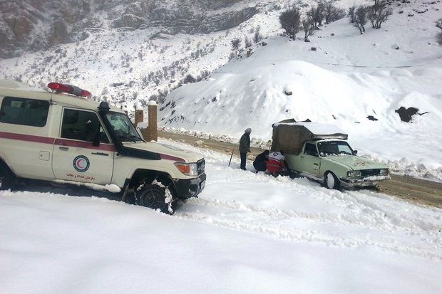 عشایر مفقود شده در برف پیدا شدند