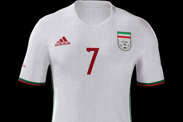 World Cup 2018 Jersey Iran