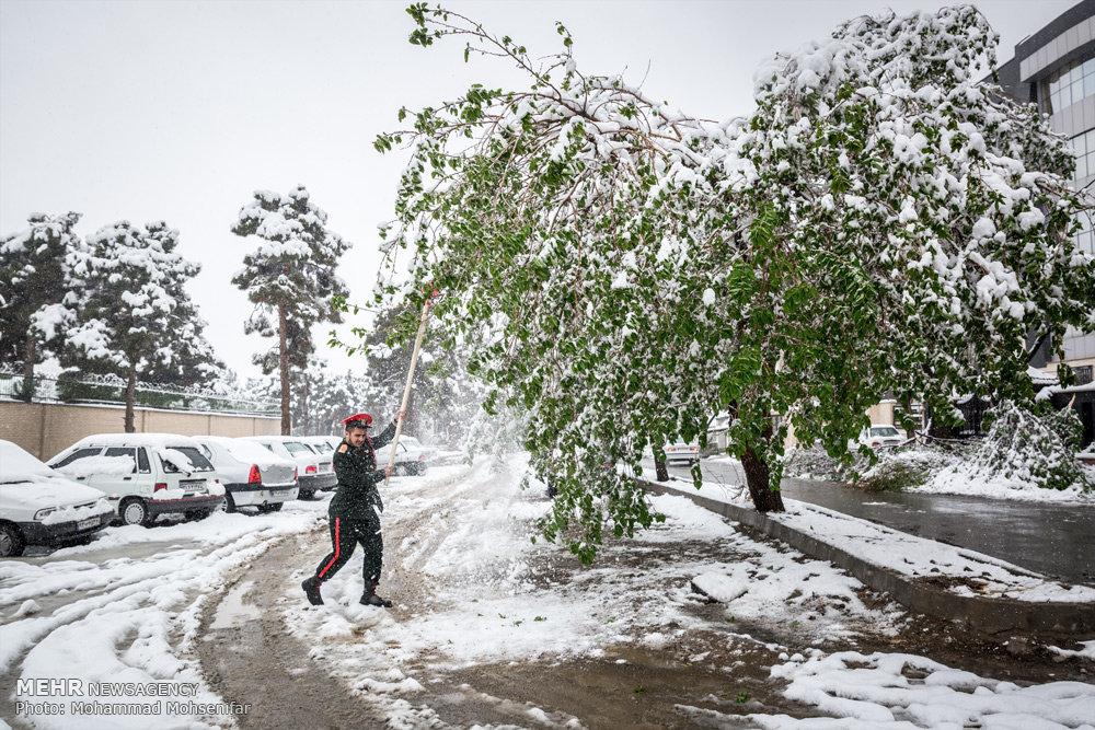 2759944 - برف و باران در کشور / وضعیت جاده های کشور