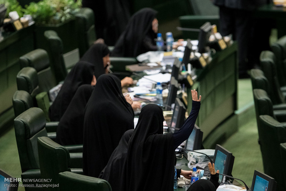 Women's share of Majlis approvals