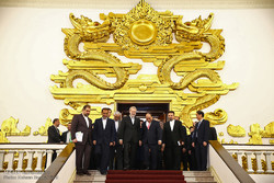 دیدار علی لاریجانی رئیس مجلس شورای اسلامی با نخست وزیر ویتنام