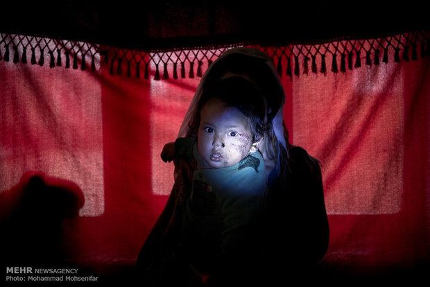 محمد فاتح. یک ساله. از سن یک سالگي مبتلا به بیماری. اهل روستای قره گل کله