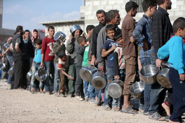 کمک انساندوستانه ۵۰ میلیون یورویی فرانسه به سوریه!