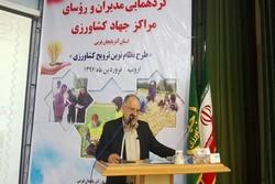 ۲۷۴ پهنه عرصه کشاورزی در آذربایجان غربی تقسیم بندی شد
