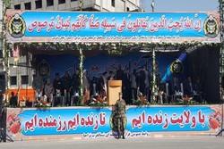 مراسم رژه روز ارتش در ۱۷ شهرستان شمالغرب کشور آغاز شد