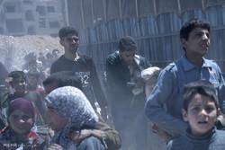 مفتشو بعثة منظمة حظر الأسلحة الكيميائية يدخلون بلدة دوما السورية