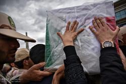 پیکر مطهر ستوان سوم شهید خلیل محمودی سروستانی تشییع شد