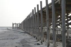 A view of Shrafkhaneh port, northeast coast of Lake Urmia. Photo by Mohammad Ali Haqshenas / Tehran Times