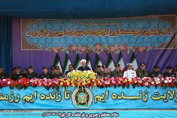 انطلاق مراسم الاستعراض العسكري بمناسبة يوم الجيش