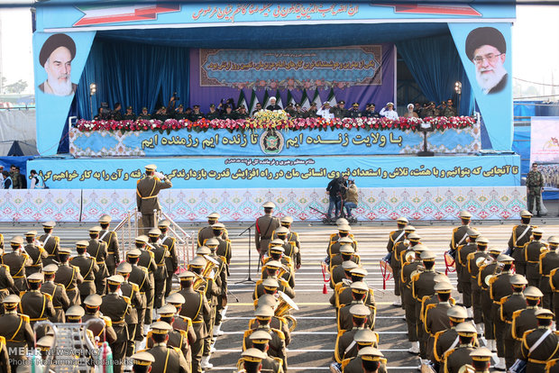 Army Day parades underway across Iran