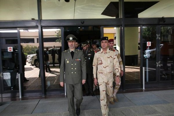 Iran's defense min. lands in Baghdad for 2-day visit