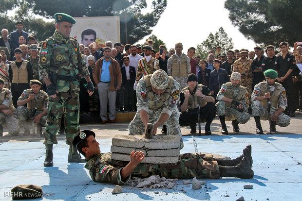"""مراسم احياء يوم الجيش الايراني في """"شهرضا"""""""