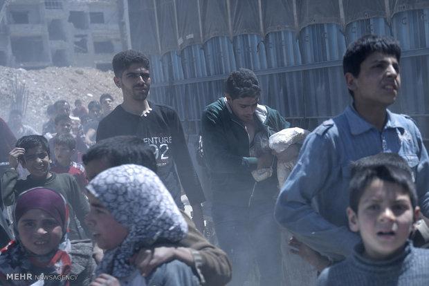 ورود بازرسان سازمان منع انتشار سلاح شیمیایی به دوما