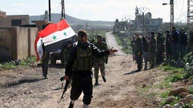 فصيل معارض يعلن ولاءه للجيش السوري ويضع عناصره تحت تصرفه
