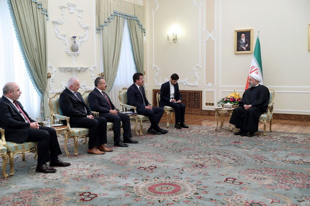 روحاني: توثيق العلاقات بين طهران وأنقرة في صالح البلدين والمنطقة