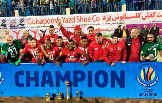 4f8217ad8 Loko claim Eurasia Beach Soccer Cup title - Tehran Times