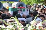 پیکر پاک شهید امانزاده در شاهیندژ تشییع شد