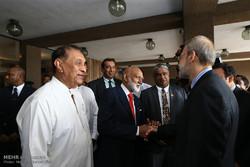 ایرانی پارلیمنٹ کے اسپیکر کا سری لنکا کا دورہ